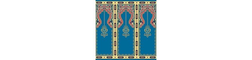 Wolle Teppich In der Moschee