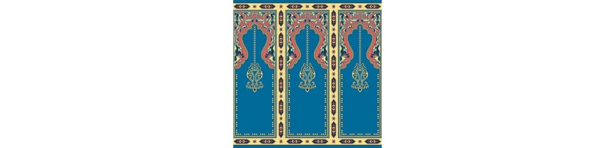 Tapis de laine dans la mosquée